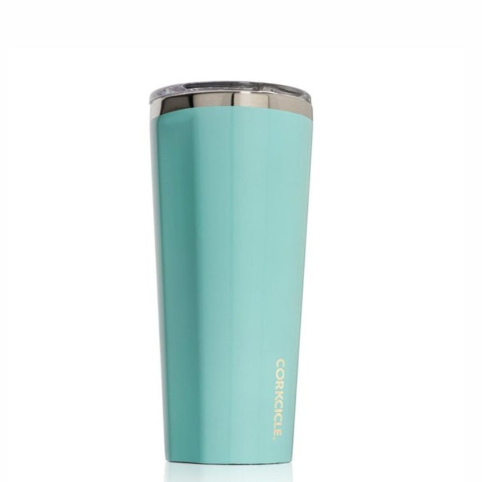 CORKCICLE | Stainless Steel Insulated Tumbler 16oz - Gloss Turquoise