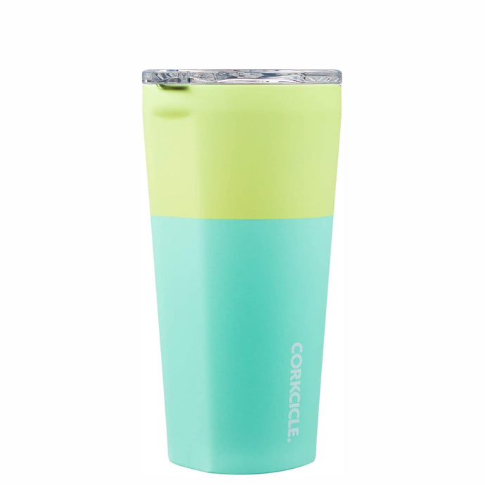 CORKCICLE | Stainless Steel Insulated Tumbler 16oz (470ml) - Colour Block Limeade