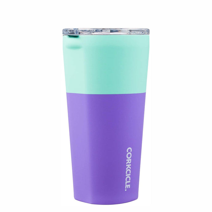 CORKCICLE | Stainless Steel Insulated Tumbler 16oz (470ml) - Colour Block Mint Berry