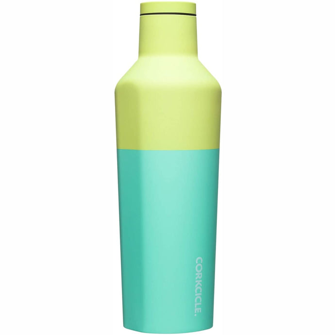 CORKCICLE | Stainless Steel Insulated Canteen 25oz (740ml) - Colour Block Limeade