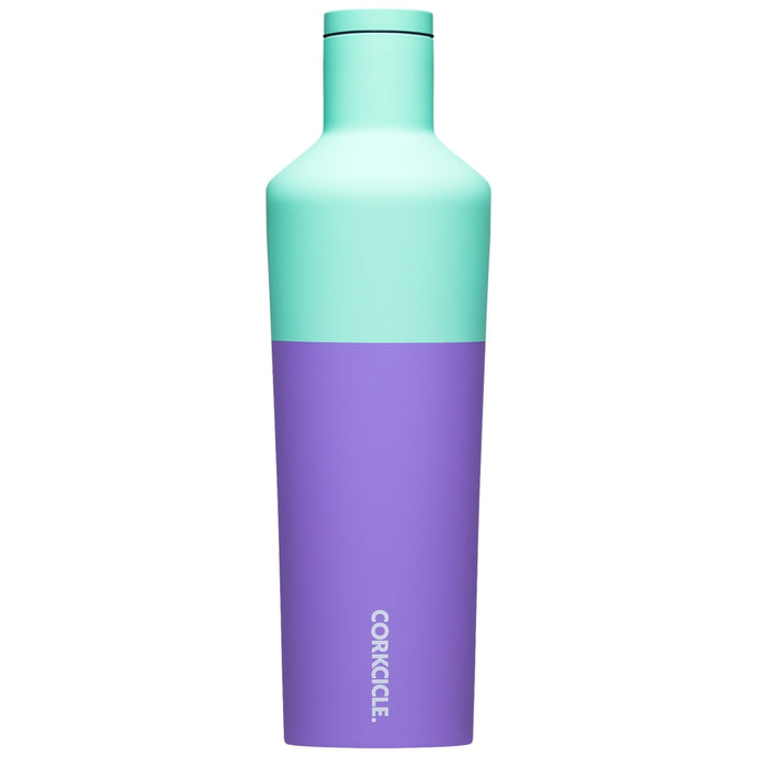 CORKCICLE | Stainless Steel Insulated Water Bottle 25oz (740ml) - Colour Block Mint Berry