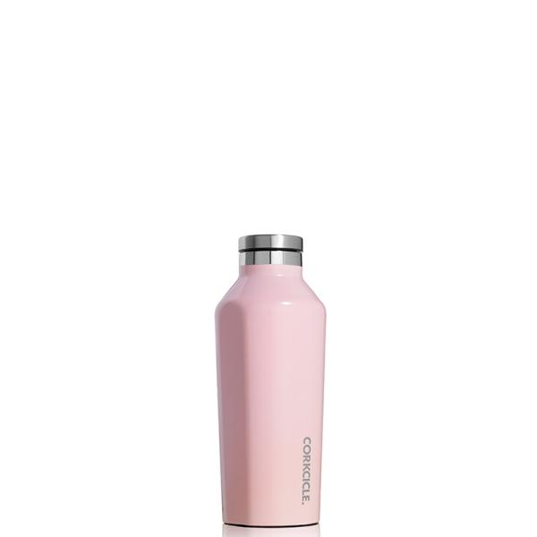 CORKCICLE | Stainless Steel Insulated Canteen 9oz (260ml) - Rose Quartz