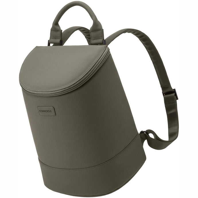 CORKCICLE | EOLA Bucket Bag Backpack Cooler - Olive