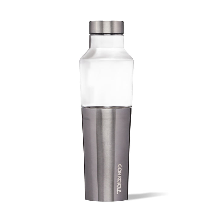 CORKCICLE | Stainless Steel/Glass Hybrid Insulated Canteen 20oz (590ml) - Gunmetal