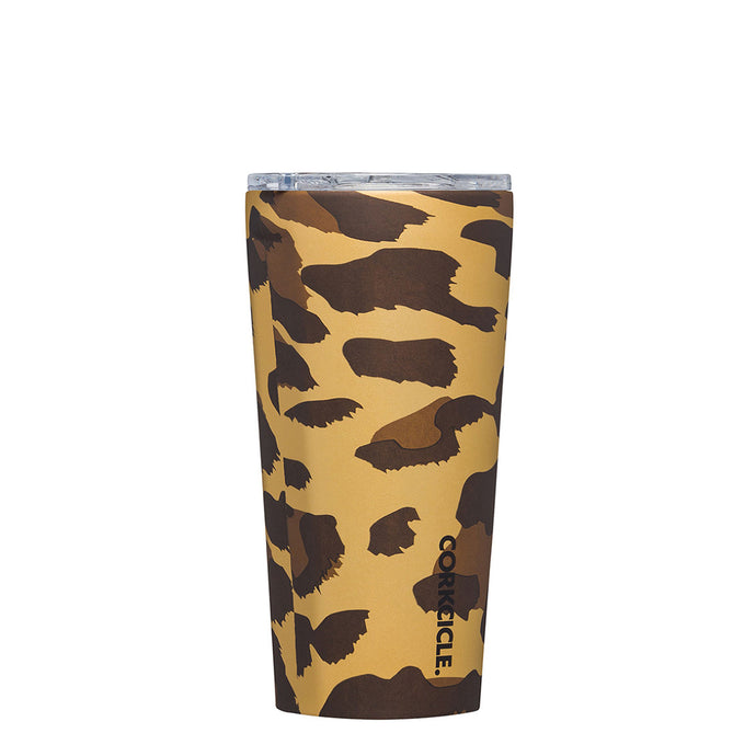 CORKCICLE | Stainless Steel Insulated Luxe Tumbler 16oz (475ml) - Leopard