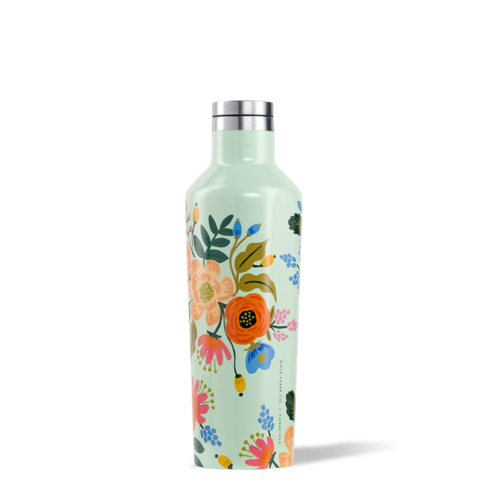 CORKCICLE x RIFLE | Stainless Steel Insulated Canteen 16oz (470ml) - Lively Floral