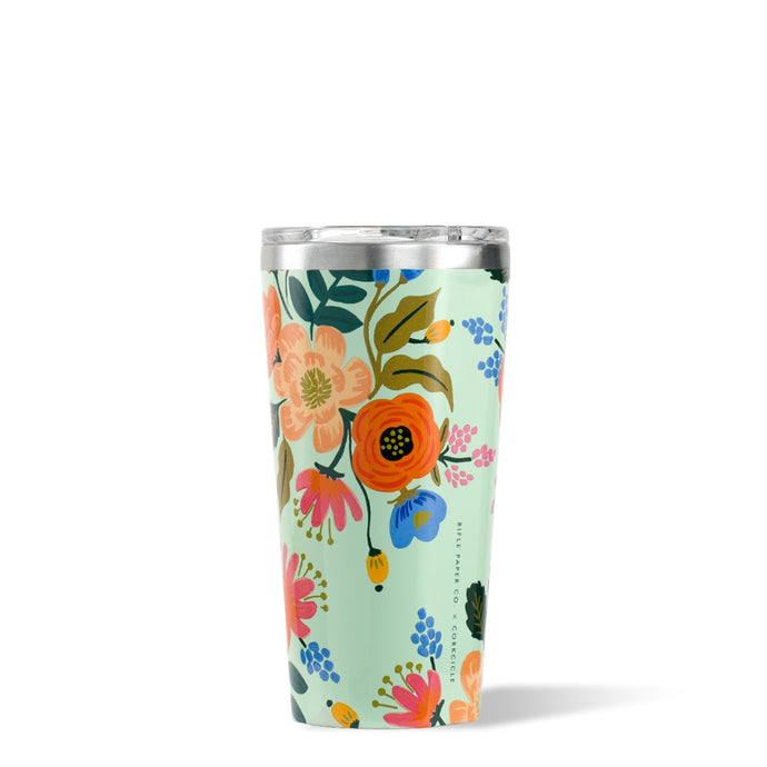 CORKCICLE x RIFLE | Stainless Steel Insulated Tumbler 16oz (470ml) - Lively Floral