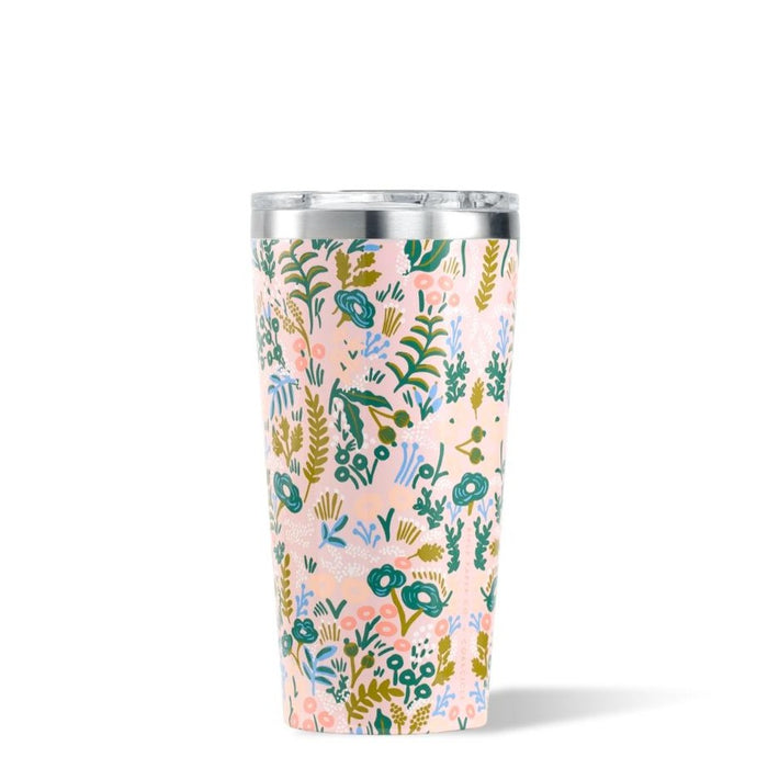 CORKCICLE x RIFLE | Stainless Steel Insulated Tumbler 16oz (470ml) - Pink Tapestry