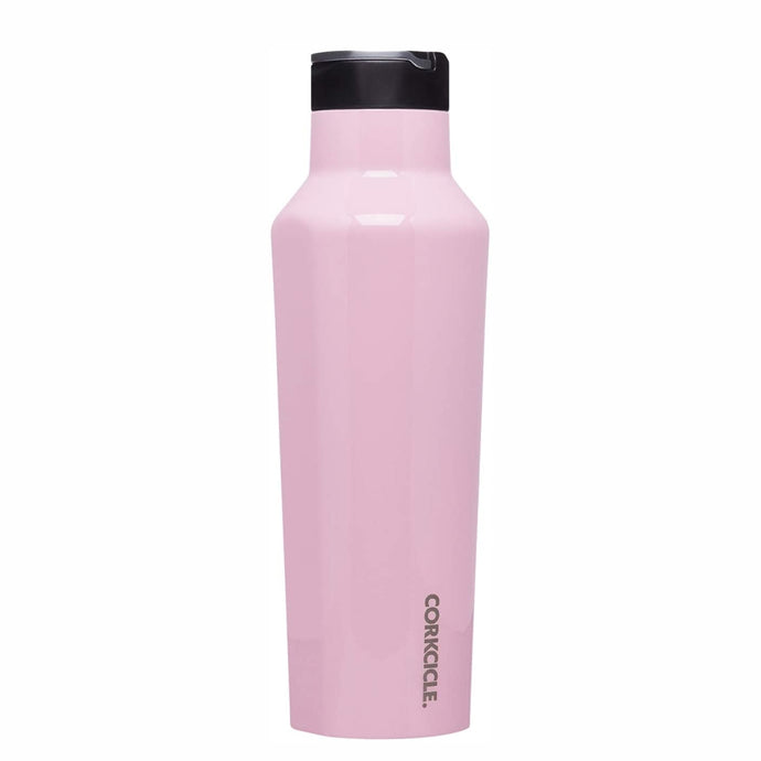 CORKCICLE | Insulated Sports Canteen Bottle 20oz (590ml) - Rose Quartz