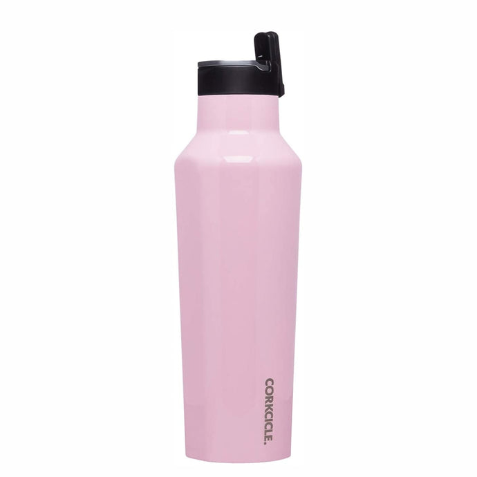 CORKCICLE | Insulated Sports Canteen Bottle 20oz (600ml) - Rose Quartz