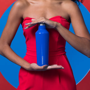 CORKCICLE | Stainless Steel Insulated Canteen 25oz (740ml) - Gloss Cobalt