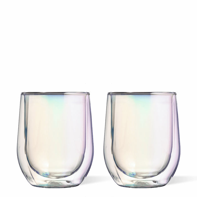 CORKCICLE | Stemless 12oz Glass Set (2) - Prism