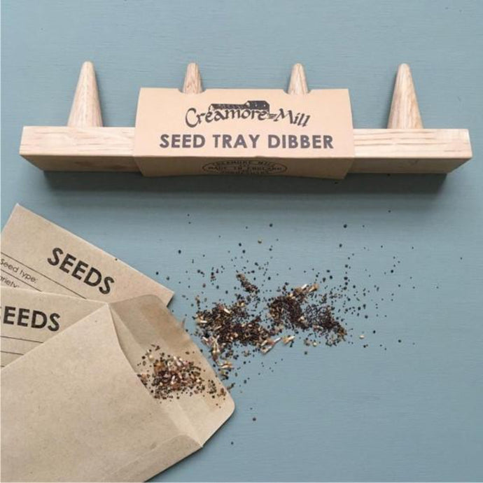 CREAMORE MILL Oak Seed Tray Dibber