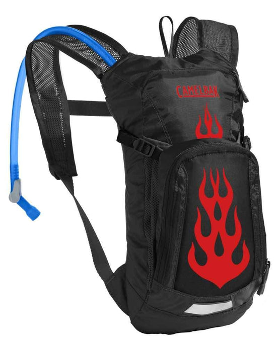 CAMELBAK | Kids Hydration Pack Mini M.U.L.E. 1.5L - Black/Flames