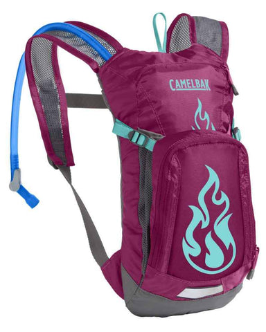 CAMELBAK | Kids Hydration Pack Mini M.U.L.E. 1.5L - Baton Rouge/Flames