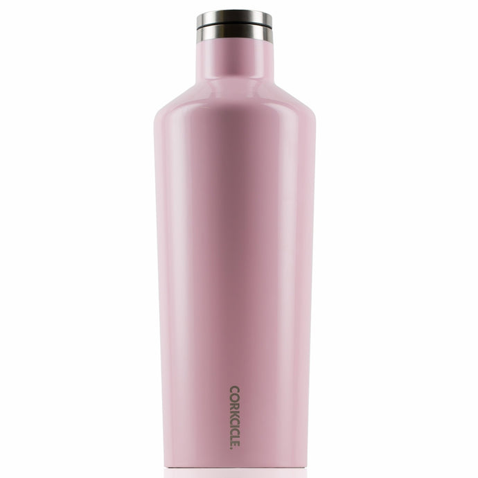 CORKCICLE | Stainless Steel Insulated Canteen 60oz (1.75L) - Rose Quartz