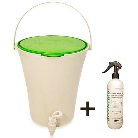 URBAN COMPOSTER™  |   'CITY' Beginner's Kit 7L - Lime