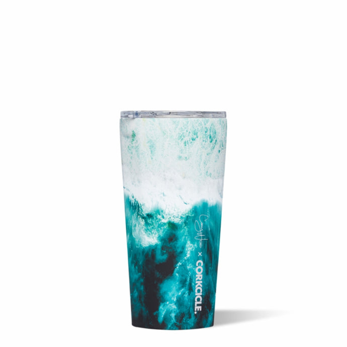 CORKCICLE x COREY WILSON | Stainless Steel Insulated Tumbler 16oz (470ml) - Big Wave