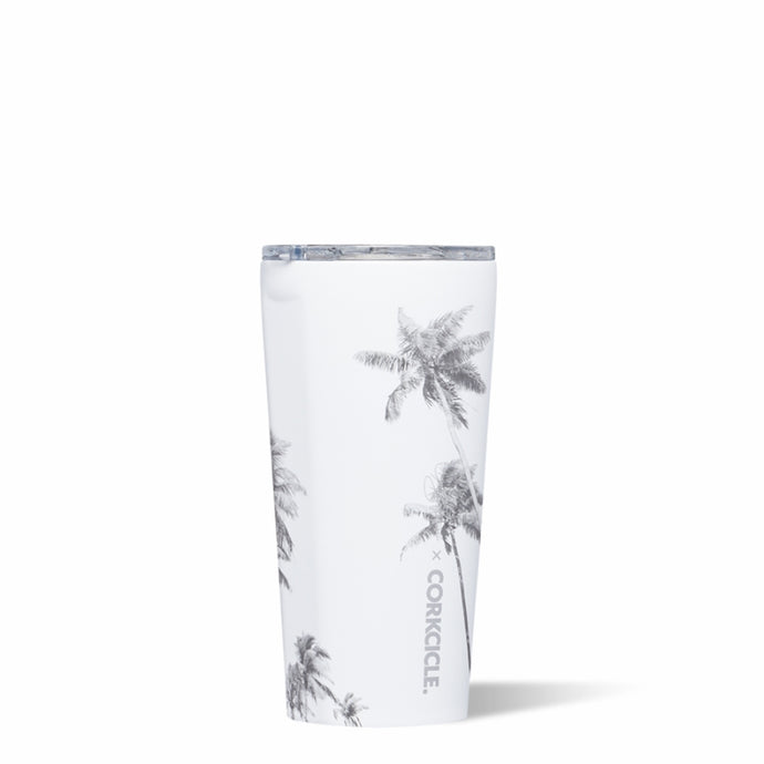 CORKCICLE x COREY WILSON |  Stainless Steel Insulated Tumbler 16oz (470ml) - Palm