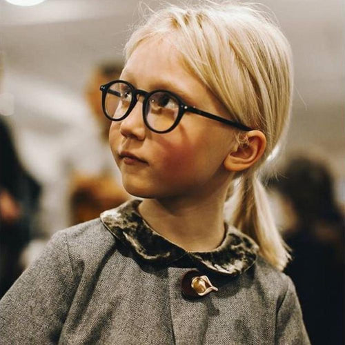IZIPIZI PARIS | SCREEN Glasses Junior Kids STYLE #D - Black (3-10 YEARS)
