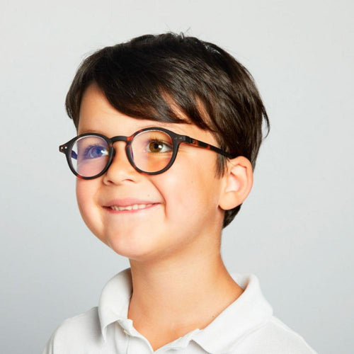 IZIPIZI PARIS | SCREEN Glasses Junior Kids STYLE #D - Tortoise (3-10 YEARS)
