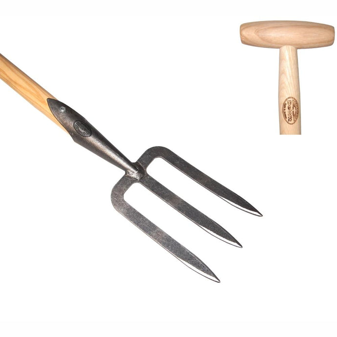 DEWIT | Mid-Sized / Ladies Hand Fork - 80cm Ash T-Handle