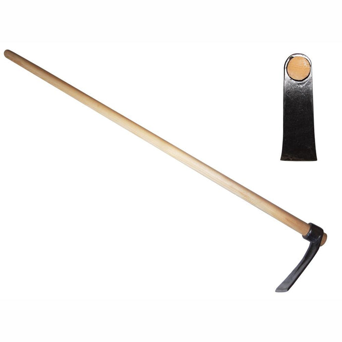 DEWIT | Round Eye Adze Hoe - Ash Handle 1300mm