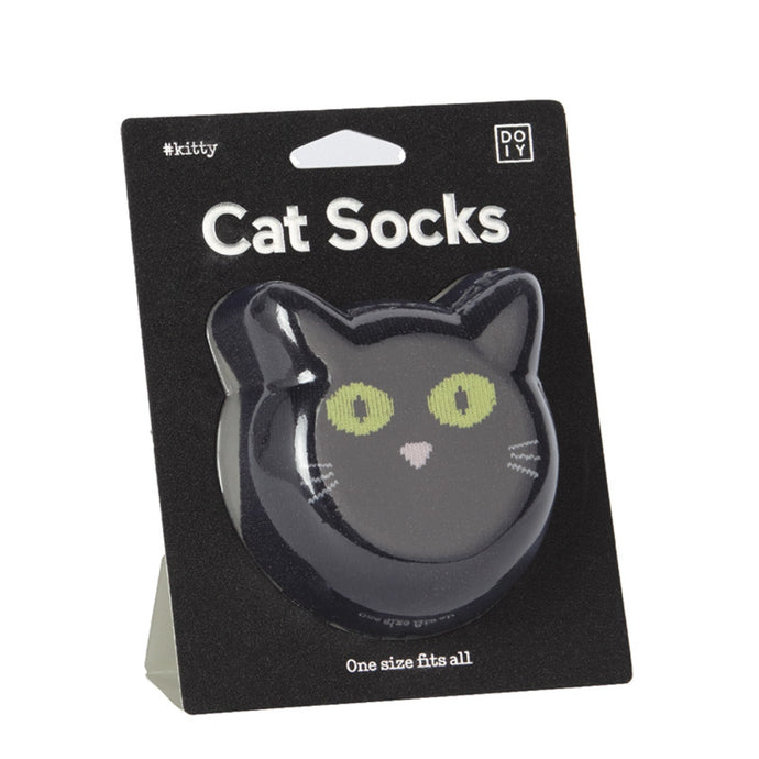 DOIY | Socks Cat - Black