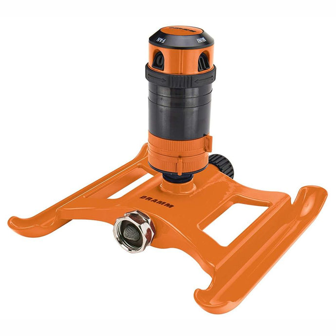 DRAMM | ColorStorm 4 Pattern Gear Sprinkler - Orange