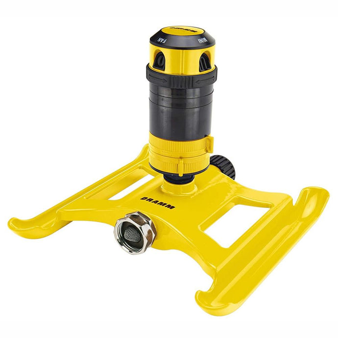 DRAMM | ColorStorm 4 Pattern Gear Sprinkler - Yellow