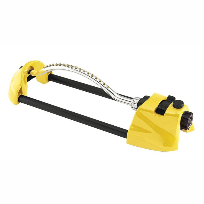 DRAMM | ColourStorm Oscillating Garden Sprinkler - Yellow