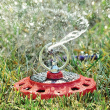 Load image into Gallery viewer, DRAMM | ColourStorm Spinning Monarch Garden Sprinkler - Berry