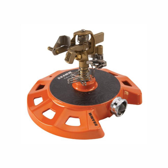 DRAMM | ColourStorm Circular Impulse Garden Sprinkler - Orange