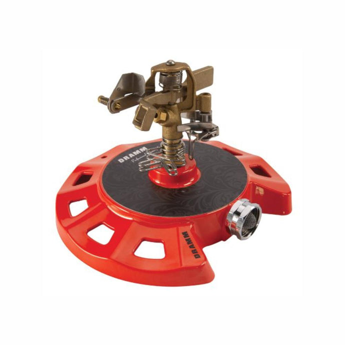 DRAMM | ColourStorm Circular Impulse Garden Sprinkler - Red