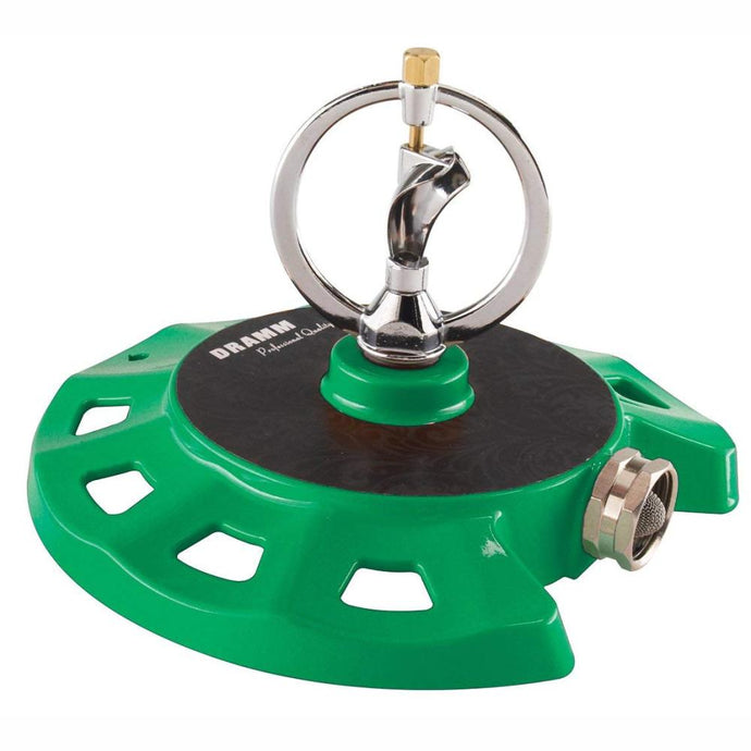 DRAMM | ColourStorm Spinning Monarch Garden Sprinkler - Green