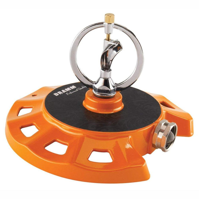 DRAMM | ColourStorm Spinning Monarch Garden Sprinkler - Orange