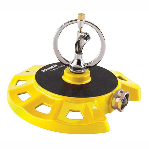 DRAMM | ColourStorm Spinning Monarch Garden Sprinkler - Yellow