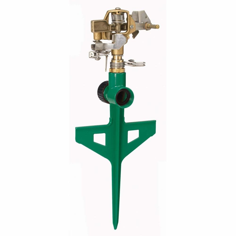 DRAMM | ColourStorm Stake Impulse Garden Sprinkler - Green