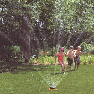 DRAMM | ColourStorm Turret Garden Sprinkler - Red