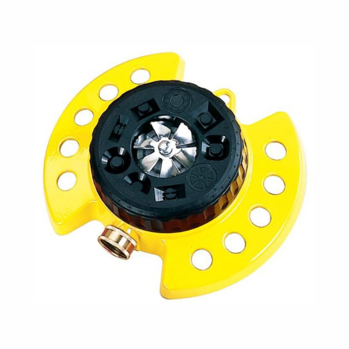 DRAMM | ColourStorm Turret Garden Sprinkler - Yellow