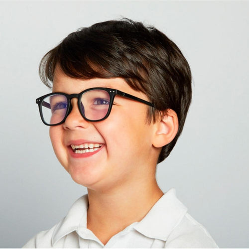 IZIPIZI PARIS | SCREEN Glasses Junior Kids STYLE #E - Black (3-10 YEARS)