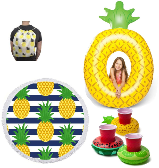 BIG MOUTH - ECD | Inflatable Beach Kit - Pineapple