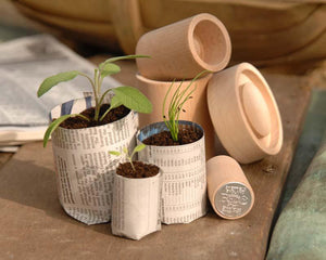 BURGON & BALL | Eco pot maker displayed