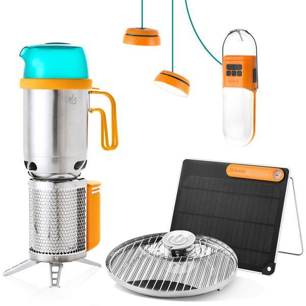 BIOLITE Energy Bundle Packable Off-grid System