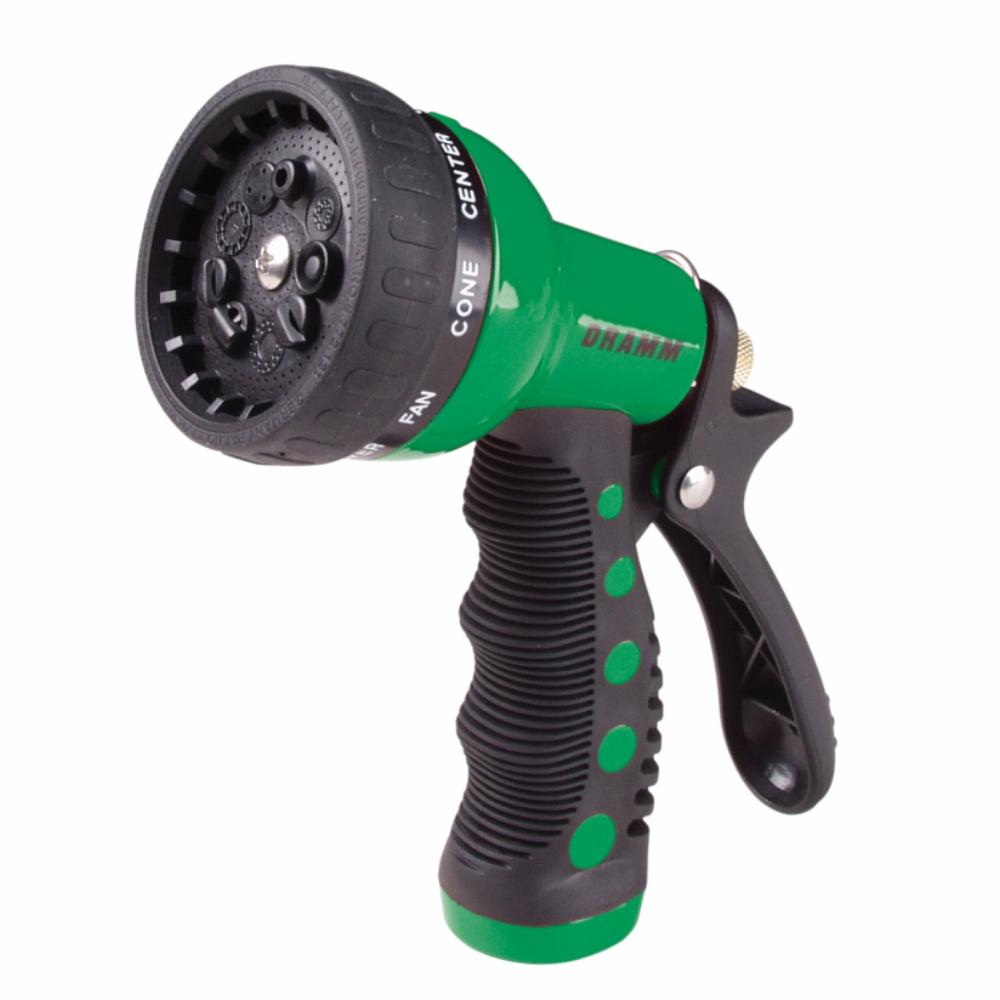 DRAMM | Touch N Flow Watering Revolver Spray Gun - Green