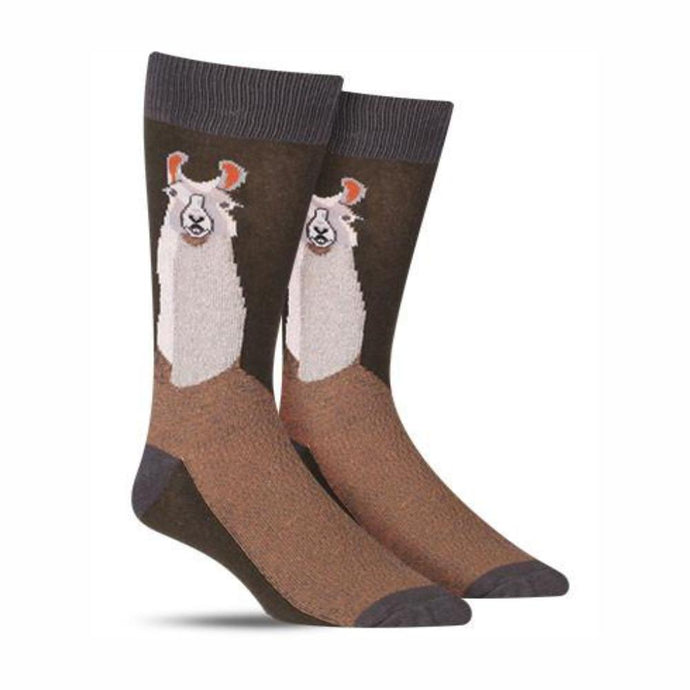 FOOT TRAFFIC   Men's Socks - Llama