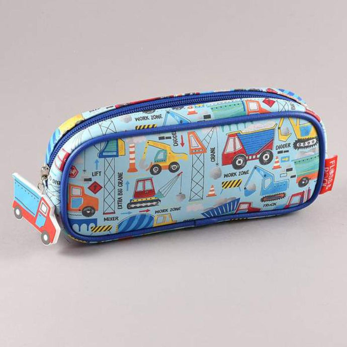 FLOSS & ROCK UK  Pencil case / mini toy bag / Toiletry Bag - Construction