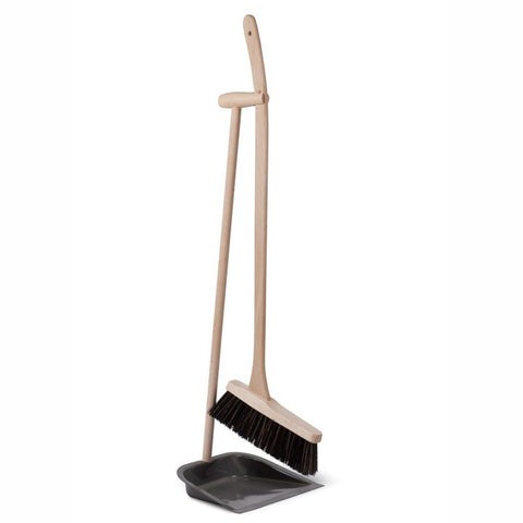 GARDEN TRADING |  House & Garden Dustpan and Brush Long Beech Handle