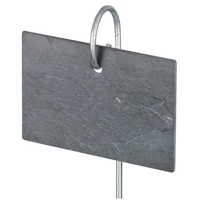 HEAVEN IN EARTH | Slate Label on Aluminium Rod