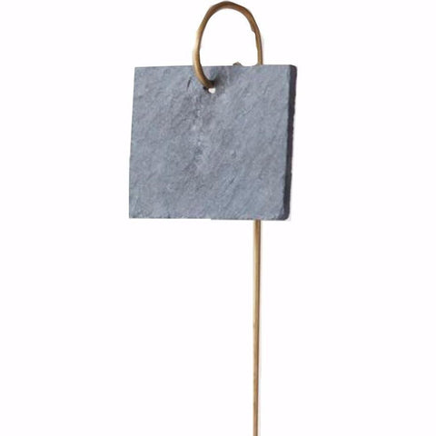GARDEN TRADING | Slate Label on Brass rod